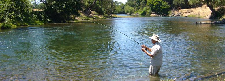 Delta central valley for Mokelumne river fishing
